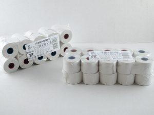 Termo rolne za fiskalne kase 28x38x18mm